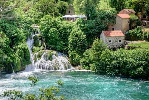 Krka National Park in Sibenik,Croatia