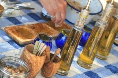 Olive Tasting in Naxos Greece