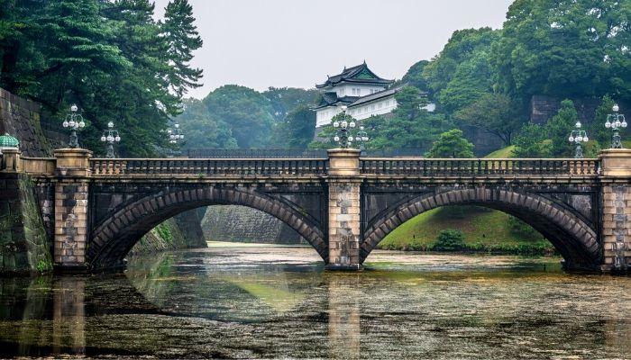 Imperial East Gardens, Tokyo, Japan