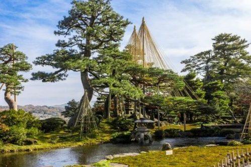 Kenrokuen Garden, Kanazawa, Japan