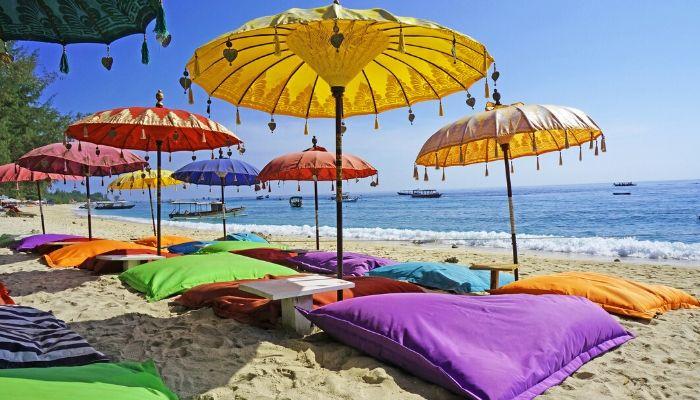 Pristine beach Bali, Indonesia