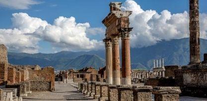 Visit the Ruins of Pompeii