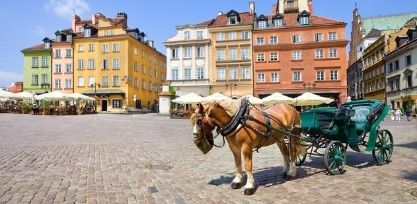 Get Lost in Warsaw's Old Town