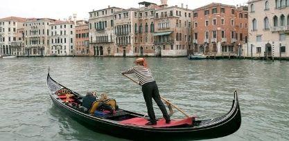 Take a Gondola Ride Through Venice