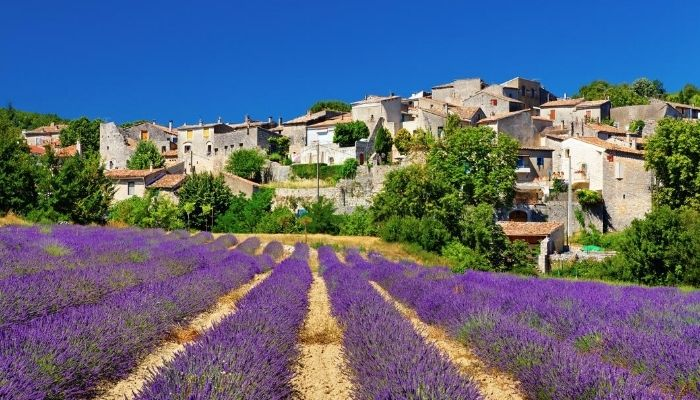 Provence town, France