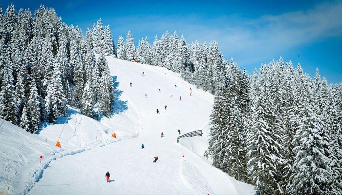 Kitzbuhel ski, Austria