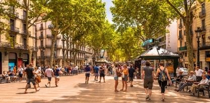 Stroll Through Beautiful Barcelona