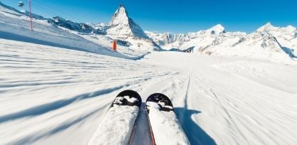 Go Skiing at the Foothills of the Matterhorn