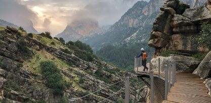 Take on the Caminto Del Rey Hike