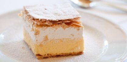 Sample the Famous Cream Cake