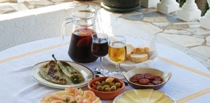 Eat Lots of Tapas and Sangria