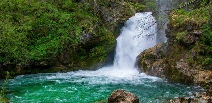 Hike the Vintgar Gorge