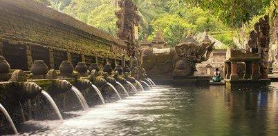 Balinese Hindu Temple Tirta Empul, Bali, Indonesia