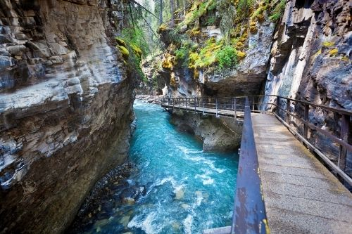 Johnson Canyon, Canada
