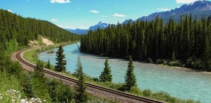 Take the Canadian from Toronto to Vancouver