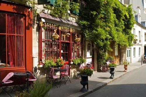 France, Paris, old town