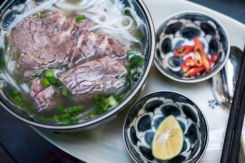 Noodle soup, Hoi An, Vietnam