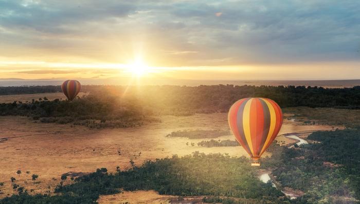 Hot Air Balloon Ride Over Masai Mara