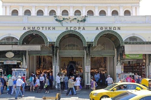 Athens Central Market, Greece