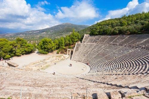 Epidaurus theatre, Greece