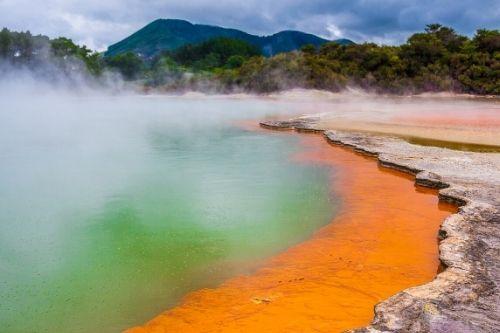 Rotorua Geothermal Park, NZ
