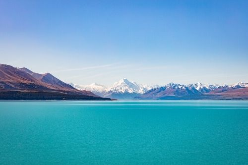 Lake Tekapo, Mount Cook, NZ
