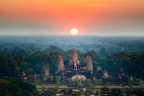 Angkor Wat sunrise, Siem Reap