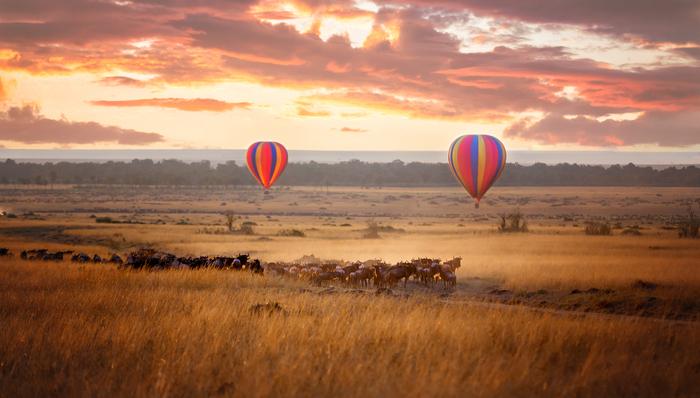 Masai Mara sunrise