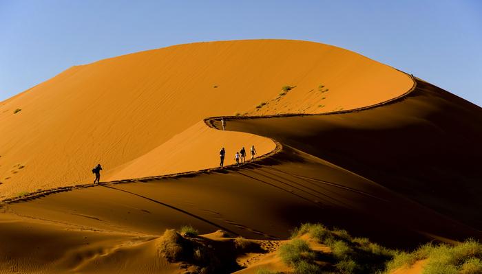 Sossusvlei Dune in Namibia