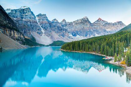 Lake Moraine Canada