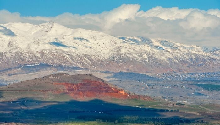 Golan Mountains, Israel