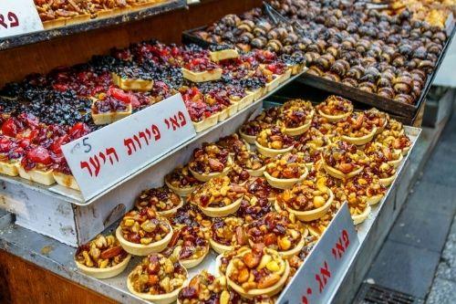 Jerusalem food market, Israel