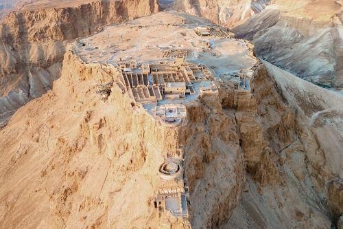 Massada fortress, Israel