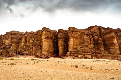 King Solomon's Pillars, Israel
