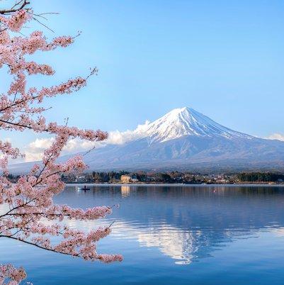 Mount fuji at Lake kawagu