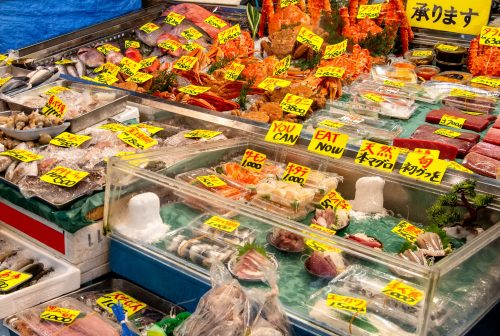 Tsukiji Market, Tokyo