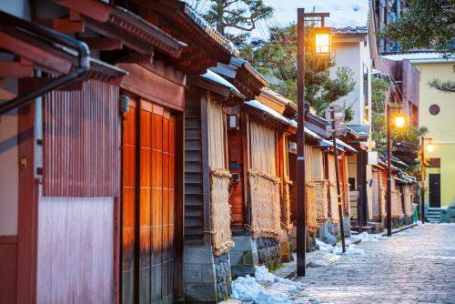 Samurai District, Kanazawa, Japan