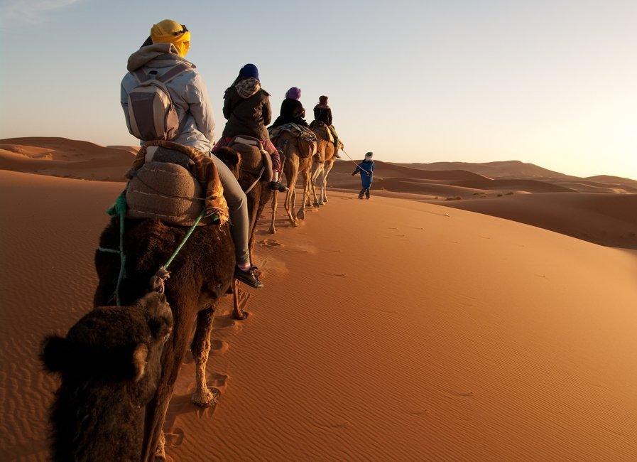Camel Riding Sahara