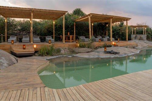 Swimming Pool at Sayari Camp