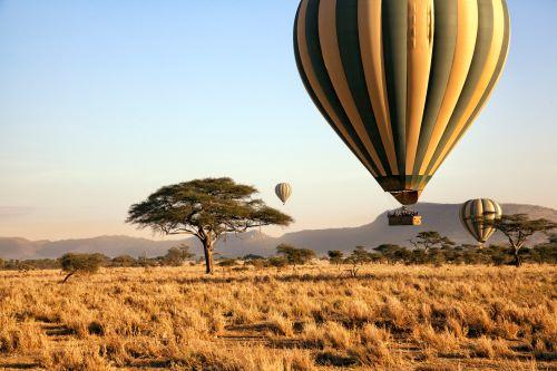 Hot Air Balloon Serengeti