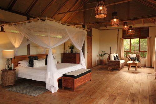 Kyambura Gorge Lodge Deluxe Room