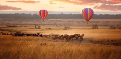 Migration Balloon, Tanzania