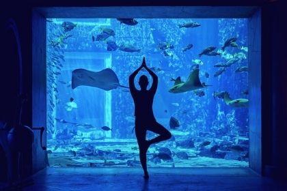 Atlantis Under Water Yoga
