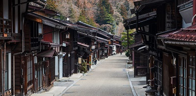 Narai, Nakasendo, Japan Alps