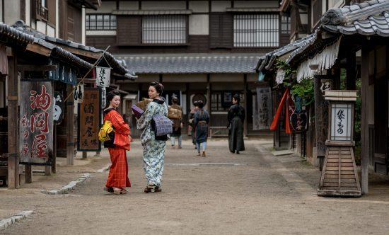 Maiko in Gion quarter, Kyoto