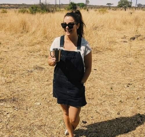 Gemma on safari