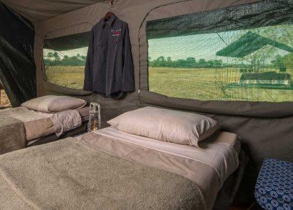 Mobile Tent, Botswana