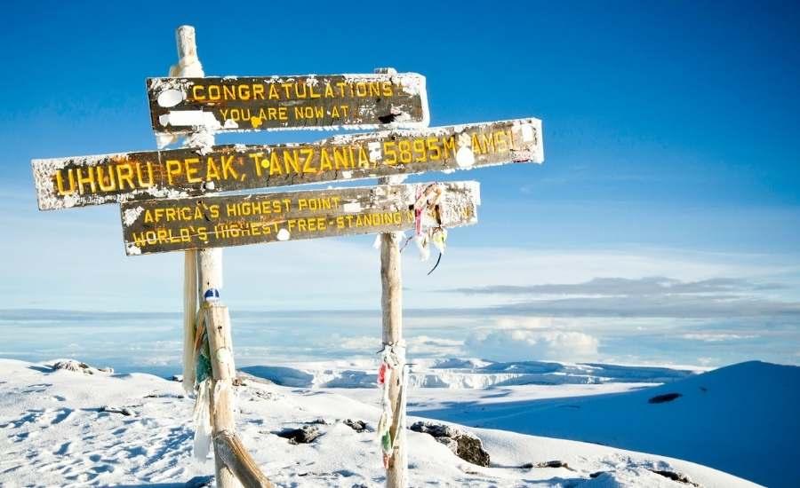 Mt Kilimanjaro Climbing Peak, Tanzania