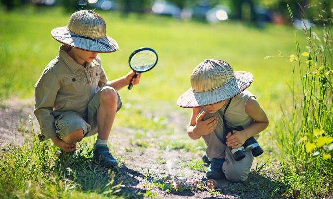 Safari children