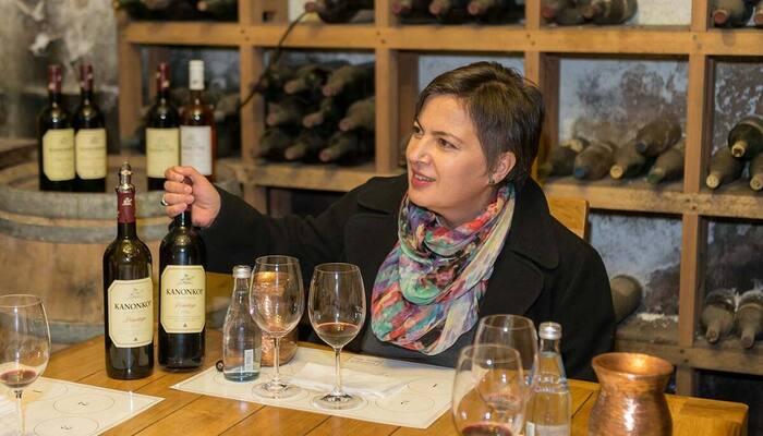 Wine Tasting - Credit Kanonkop